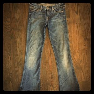 7 for all mankind jean SHORT bootcut Seven 26x29 2